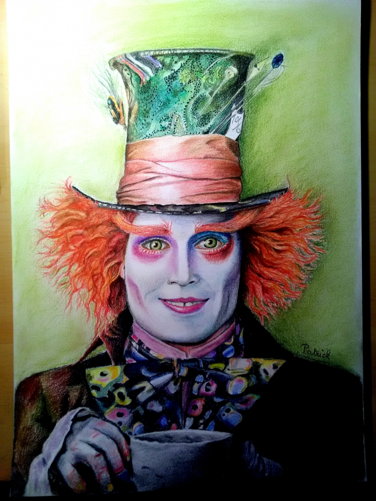 Johnny Depp by Sculptif